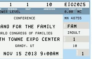 ticket 11-15-13